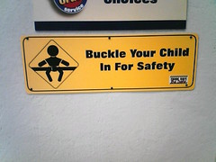 Buckle Your Child In For Safety