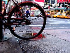 The Tire and The Toil 12 (lorenzodom) Tags: street nyc newyorkcity morning ny newyork mañana bike bicycle dawn trabajo calle gate strada alba 34thstreet january band pedestrian tire bicicleta 2006 sidewalk amanecer lorenzo bici rua straße crosswalk rue morgen 自行车 metropolitan alvorada fahrrad pneu vélo trottoir sykkel fiets 7thavenue matin утро calçada manhã acera bicicletta straat mattina pedone seventhavenue aube slit bürgersteig voetgangers llanta pedestre lorenzodom 腳踏車 reifen marciapiede 黎明 peine dekk morgendämmerung peatón piéton велосипед fortau peão fußgänger fotgjenger 行人 улица じてんしゃをこぐ 辛苦 あけぼの dageraad trabalhoduro 你好! ーニング ごぜん 午前 そうてん 早天 рассвет daggry ぎょうてん ぎょうこう 暁光 暁天 曙 pneumatico шина 輪胎,toil mühe lavoroduro gezwoeg тяжелый труд 轮胎,