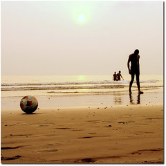 football ([phil h]) Tags: ocean 2005 life africa travel sunset shadow summer people reflection men beach topf25 water silhouette topc25 topv111 1025fav 510fav wow square landscape football interestingness interesting sand topf50 topv555 topv333 topf75 december waves 500plus minolta soccer topv1111 topc50 topv999 topv444 silhouettes gimp fv5 topv222 topf300 topc100 squareformat fv10 blogged topv777 konica a200 topf150 topv4444 topf100 topv666 dimage topf250 topf200 squared cameroon cameroun topv888 konicaminolta favcol hiphiutatafeature fivestarsgallery utatabythesea semebeach top20soccer