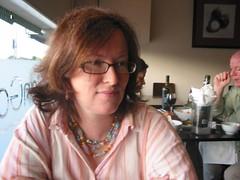 Helene (Helen Morgan) Tags: me helen earrings helene dinnerout galangal localfave cherryearrings
