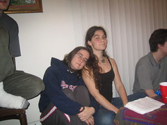 Noor and Rebecca (t-gray) Tags: rebecca noor