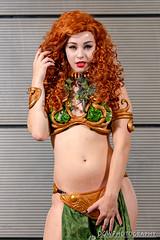 Slave Princess Poison Ivy (dgwphotography) Tags: cosplay nycc nycc2016 newyorkcomiccon 70200mmf28gvrii nikond600 nikoncls portrait