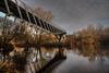 The Living Bridge 11-12-2016 (John Holmes (DAJH51)) Tags: hdr livingbridge nikond750 nisi photomatrix univesityoflimerick longexposure rivershannon sigmaart24106 winter