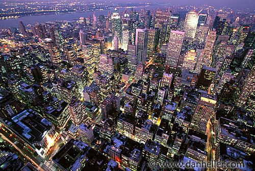 new york city skyline night. new york city skyline night.