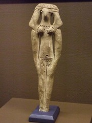 This Funerary Model of a Woman from the MIddle...