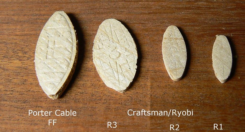 Ryobi/Craftsman Detail Biscuits
