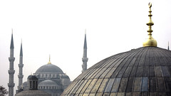 Mezquita Azul desde Santa Sofia
