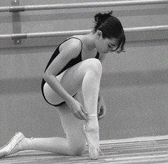 Adjustments.... (ido1) Tags: blackandwhite bw ballet israel dance photofriday shoham