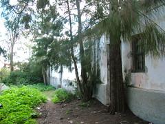 Deserted houses Sancti Petri
