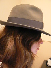 day 59-my new hat (katyhutch) Tags: selfportrait hat profile sideview day59 newhat 365days