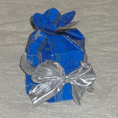 Scatola per bijou in origami