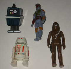 My Childhood Star Wars figures