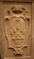 Coat of arms - Stemma (Gianluca Ermanno (aka Vygotskij 30.000)) Tags: italien italy sculpture italia tuscany toscana prato italie stemma scultura carmignano coatsofarms stemmi fotoincatenate