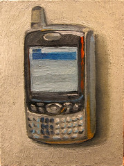 treo (dgray_xplane) Tags: art nerd painting artwork artist technology treo geek tech kunst pda stlouis cellphone stilleben mo missouri mobilephone gadget saintlouis oilpainting geeky naturemorte techie xplane naturamorta