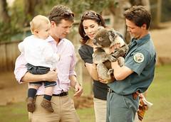 shooting mary (sean fennessy) Tags: camera denmark media koala tasmania paparazzi royalvisit princessroyalty danishroyals