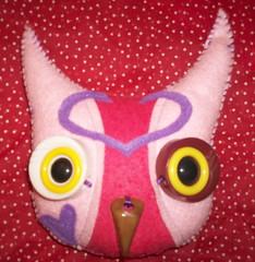 the last owl. (~aorta~) Tags: plush softie owl etsy applique aorta