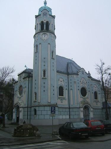 Biserica Albastra - Bratislava - exterior
