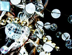 shiney things are nice (Darwin Bell) Tags: silver mirror beads searchthebest explore blackground mirrorball discoball sfchronicle96hrs abigfave p1f1 5for2 r1f1 msh1107 twtmesh70705 msh110720