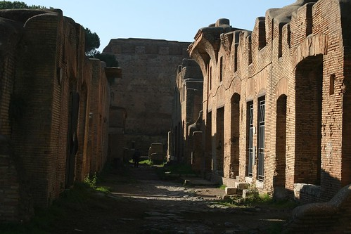 Wandering Ostia Antica