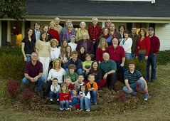 Large Clan - Taylor Christmas 2006