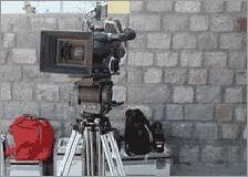 A Camera on Tripod