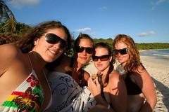 half moon bay hotties (antiguan) Tags: girls woman cute beach girl sunglasses island islands women shades antigua bikini beaches hotties caribbean girlz menina halfmoonbay antiguan