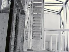 78 snowy steps (Oregonlahar) Tags: christmas snow oregon forest rental 2006 lookout clearlake service lahar firetower lookouttower coughlin firelookout christmas2006 oregonlahar kevincoughlin clearlakelookout kkcoughlin kevinkearneycoughlin