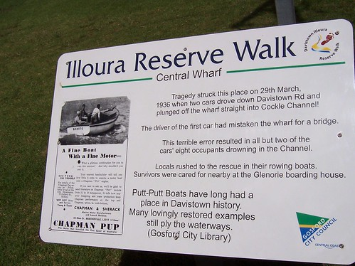 Illoura Reserve Walk Central Wharf