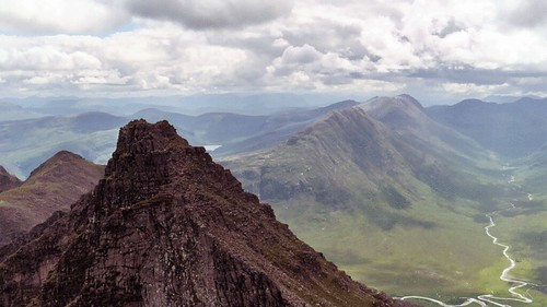 An Teallach: towards Fisherfield from Sgurr Fiona