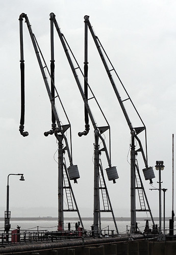 Fuel terminals, Canvey Island