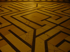 Ely cathedral maze by andreakkk on flickr