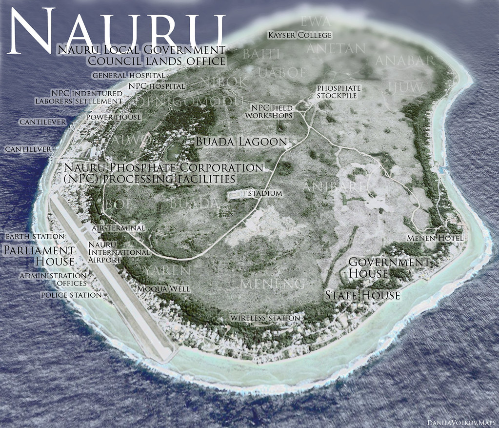 NAURU The worlds smallest island nation ElaKiri Community