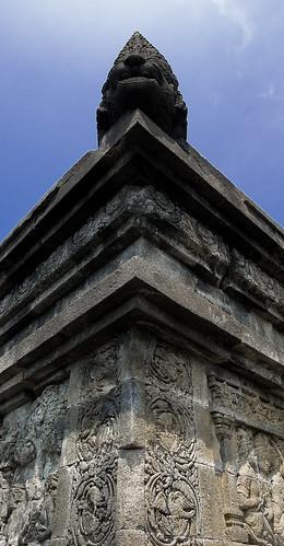Borobudor: Corner