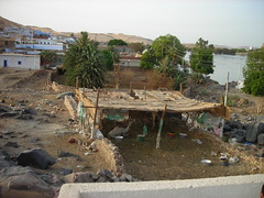 Away in the Manger... (luv to travel) Tags: trip village egypt aswan 06 nubian