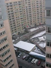 Beijing - Shuguan Huayuan - Balcony View w/Snow