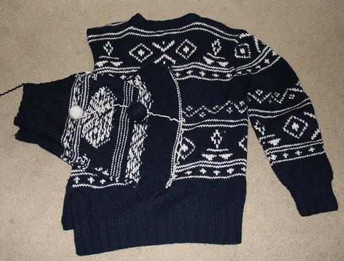 sweater crafts yarn recycling