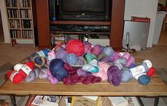 sock yarn 1