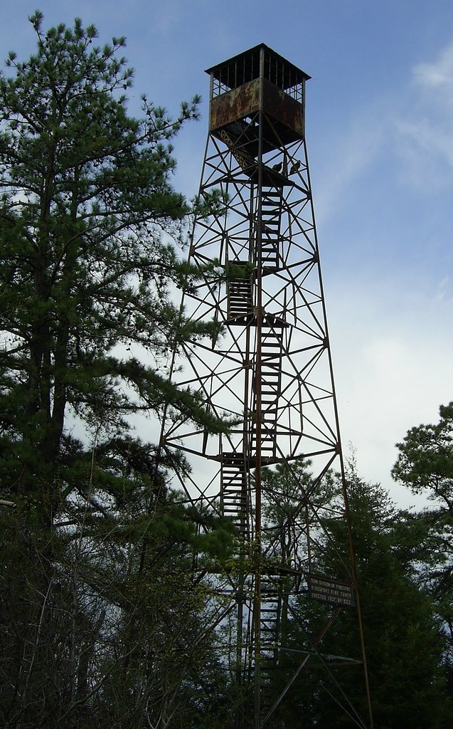 Bays Mountain Firetower