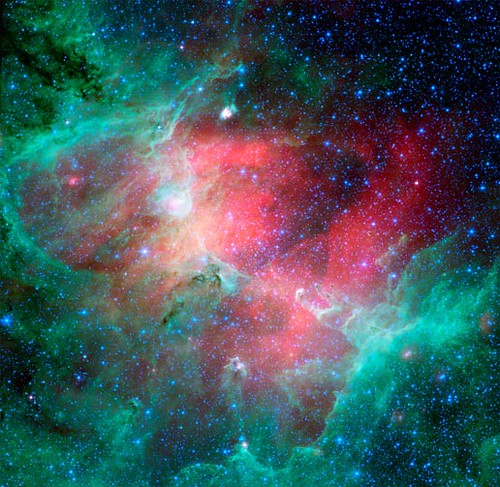 Infrared Eagle Nebula (M16)