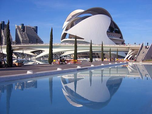 Ciudad de las Artes en Valencia
