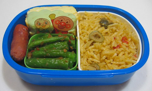 Burmese bean bento for toddler お弁当