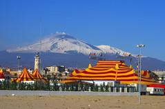 Il circo sotto al vulcano