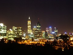 Perth Skyline from King's Park (Princess_Fi) Tags: skyline perth kingspark westernaustralia