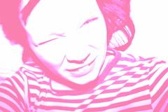 chichipowpoww (interpoly) Tags: pink photoshop stripes johanne elvira