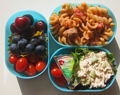Sausage pasta lunch for toddler (Biggie*) Tags: food chicken cheese children lunch kid cherries toddler child box tomatoes sausage pasta bento ricotta blueberries packedlunch boxlunch bentobox  schoollunch chickensalad biggie  brownbag lunchinabox  fusilli   sacklunch   boxedlunch bentoblog brownbaglunch         ssbiggie lunchinaboxnet twittermoms