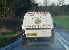 paulegg (Thirsk) Tags: plate illegal dodgy spacing