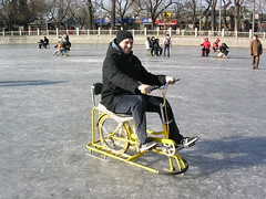 Beijing - Hou Hai - Ice Bicycling