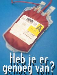 Jehova-getuige had echt genog van haar bloedtransfusie