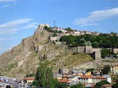 Ankara Citadel Yg Terletak Di Atas Bukit, Ankara, Turkey