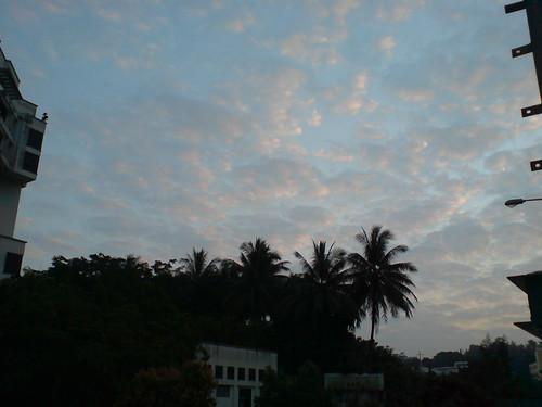 cloudy Sky after sunrise